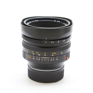ノクティルックス M50mm F1.0 レンズフード組込 ブラック