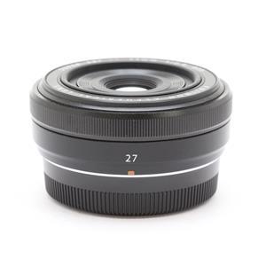 フジノン XF27mm F2.8 ブラック