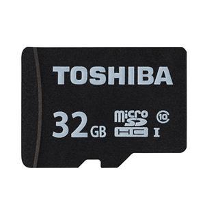 TOSHIBA (トウシバ) micro SDHCカード UHS-1 32GB Class10 MSDAR40N32G(変換アダプタ付属) メイン