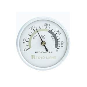 湿度計 金具 OP-AD-H-WW ホワイト