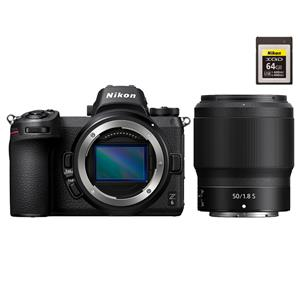 Nikon (ニコン) Z6 ボディ + NIKKOR Z 50mm F1.8 S XQDメモリーカードセット メイン