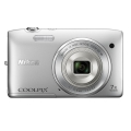 Nikon (ニコン) COOLPIX S3500 クリスタルシルバー