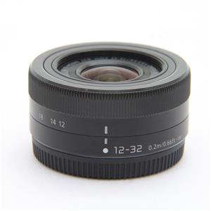 LUMIX G VARIO12-32mm F3.5-5.6 ASPH. MEGA O.I.S. H-FS12032 ブラック