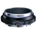 Voigtlander (フォクトレンダー) マウントアダプター フォクトレンダーS/SCレンズ/ソニーEボディ用 (SC E-mountアダプター)