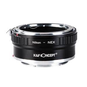 K&F Concept (ケーアンドエフ・コンセプト) マウントアダプター ニコンFレンズ/ソニーEボディ用  KF-NFE2 メイン