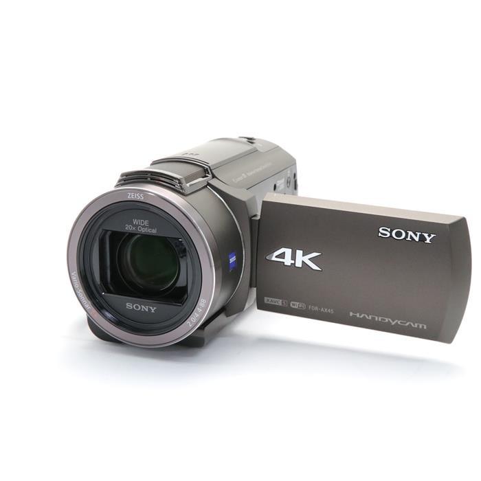 デジタル4Kビデオカメラレコーダー FDR-AX45