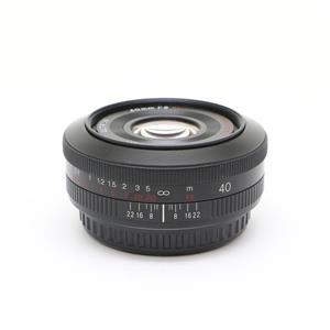 ULTRON 40mm F2 SLII Aspherical(キヤノンEF用)