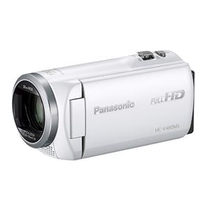 Panasonic (パナソニック) デジタルハイビジョンビデオカメラ HC-V480MS-W ホワイト メイン