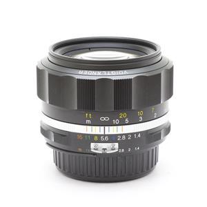 NOKTON 58mm F1.4 SL II S(ニコンF用) ブラックリム