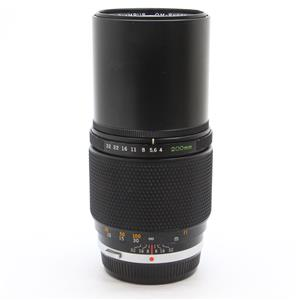 OM 200mm F4 MC