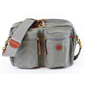 シリンダーポケット付バッグ 400-06(インナーバッグ付) グレー