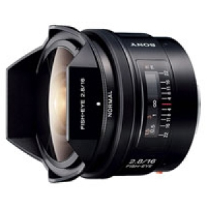 16mm F2.8 Fisheye SAL16F28