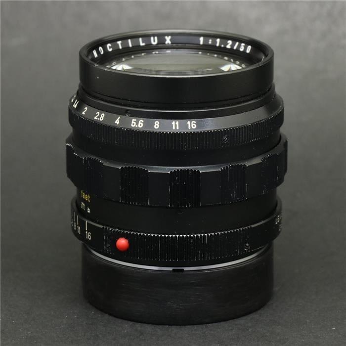 ノクティルックス M50mm F1.2 (非球面)+専用フード+フィルター付