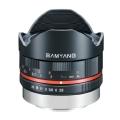 SAMYANG (サムヤン) 8mm F2.8 Fish-eye(フジXFマウント用) ブラック