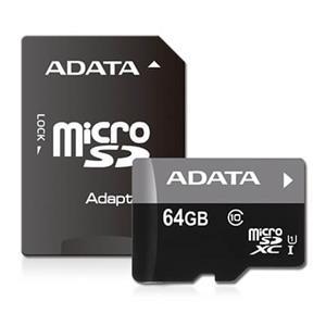 Premier microSDXC UHS-I Class10 R/W:50/10 64GB AUSDX64GUICL10-RA1