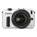 Canon (キヤノン) EOS M EF-M18-55IS STM レンズキット ホワイト