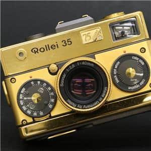 Rollei (ローライ) ローライ 35 75周年モデル ゴールド メイン