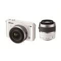 Nikon (ニコン) Nikon 1 S1 ダブルズームキット ホワイト