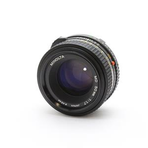 New MD 50mm F1.7