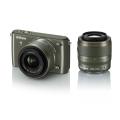 Nikon (ニコン) Nikon 1 S1 ダブルズームキット カーキ