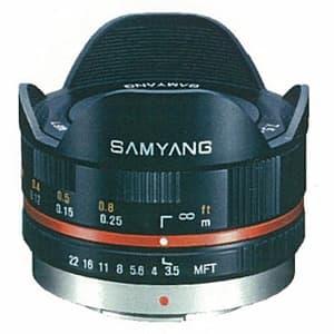 7.5mm F3.5 フィッシュアイ(マイクロフォーサーズ用) ブラック