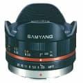 SAMYANG (サムヤン) 7.5mm F3.5 フィッシュアイ(マイクロフォーサーズ用) ブラック