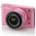 Nikon (ニコン) Nikon 1 J1 標準ズームレンズキット ピンク