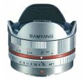 SAMYANG (サムヤン) 7.5mm F3.5 フィッシュアイ(マイクロフォーサーズ用) シルバー