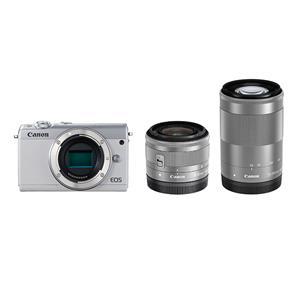 Canon (キヤノン) EOS M100 ダブルズームキット  ホワイト メイン