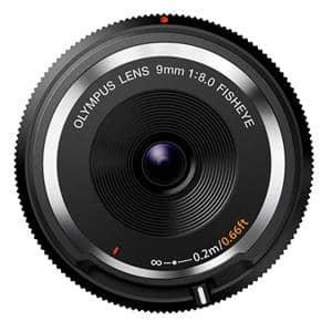 フィッシュアイボディキャップレンズ(9mm F8.0 FISHEYE) BCL-0980 ブラック