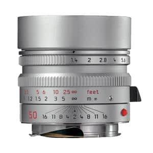 ズミルックス M50mm F1.4 ASPH. (6bit) シルバー