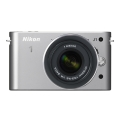 Nikon (ニコン) Nikon 1 J1 標準ズームレンズキット シルバー
