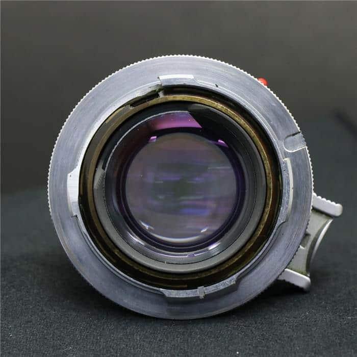 ズミルックス M35mm F1.4 1st シルバー +専用フード付き