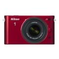 Nikon (ニコン) Nikon 1 J1 標準ズームレンズキット レッド