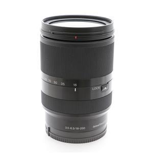 E 18-200mm F3.5-6.3 OSS LE SEL18200LE