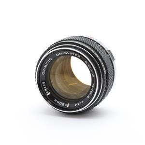 OM 50mm F1.4 ※アルファベットD~H.ZUIKO表記