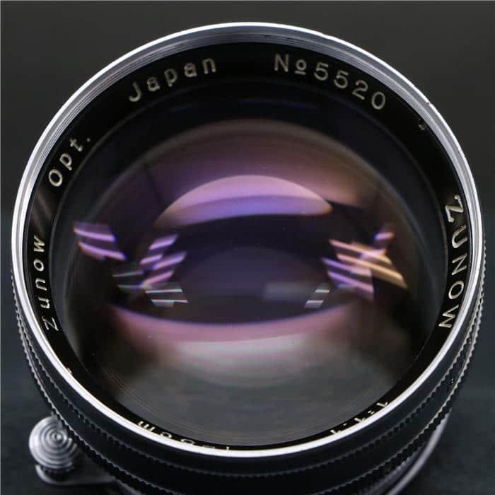 ZUNOW 50mm F1.1 (ライカL) ※先端・ピントリングがシルバー