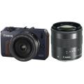 Canon (キヤノン) EOS M ダブルレンズキット ベイブルー
