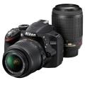 Nikon (ニコン) D3200 200mmダブルズームキット ブラック