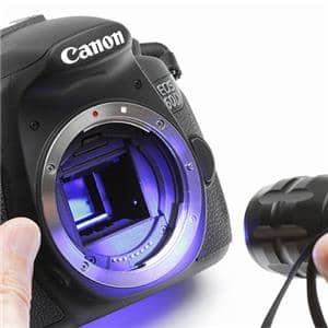 カメラ傷見・歪み検査用青色LEDライト ブラック