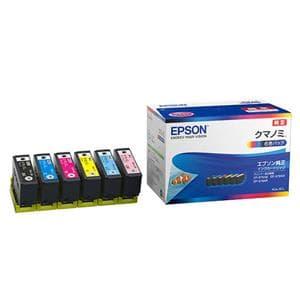 EPSON (エプソン) インクカートリッジ クマノミ 6色セット KUI-6CL メイン