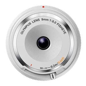 フィッシュアイボディキャップレンズ(9mm F8.0 FISHEYE) BCL-0980 ホワイト