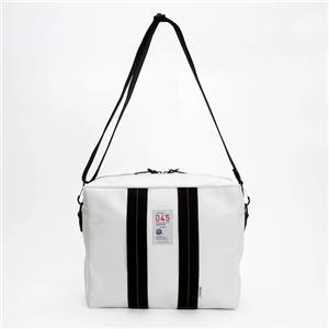 MAPCAMERA (マップカメラ) ×横濱帆布鞄 別注デイリーシューターバッグ ホワイト/タン メイン
