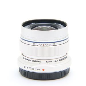 M.ZUIKO DIGITAL ED 12mm F2.0 シルバー