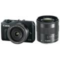 Canon (キヤノン) EOS M ダブルレンズキット ブラック