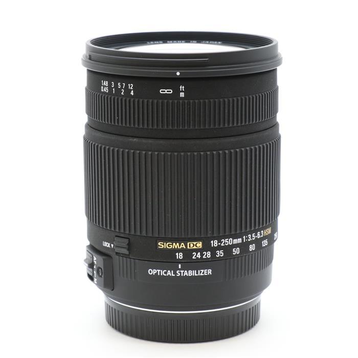 18-250mm F3.5-6.3 DC OS HSM (キヤノン用)